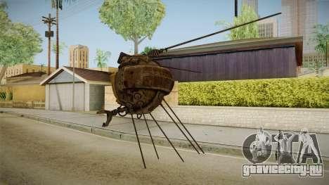Fallout New Vegas DLC Lonesome Road - ED-E v1 для GTA San Andreas четвёртый скриншот