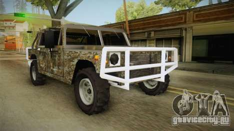 New Patriot Hummer для GTA San Andreas