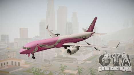 Boeing 757-200 Northwest Airlines Breast Cancer для GTA San Andreas