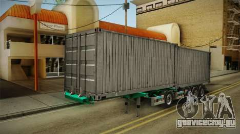 Trailer Container v1 для GTA San Andreas