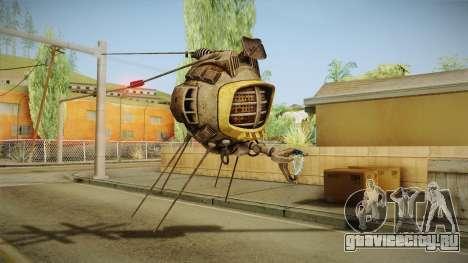 Fallout New Vegas DLC Lonesome Road - ED-E v1 для GTA San Andreas третий скриншот