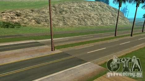 Русские дороги полная версия для GTA San Andreas второй скриншот