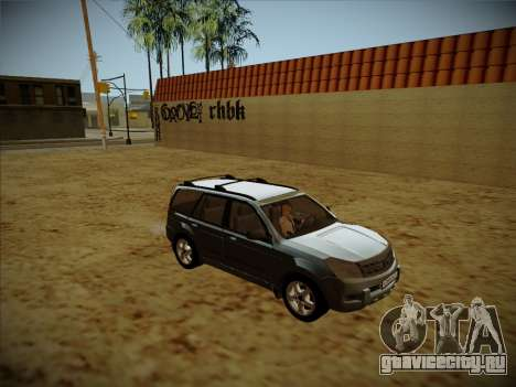 Great Wall Hover H2 для GTA San Andreas вид изнутри