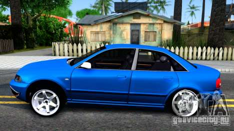 Audi S4 Dark Shark для GTA San Andreas вид слева