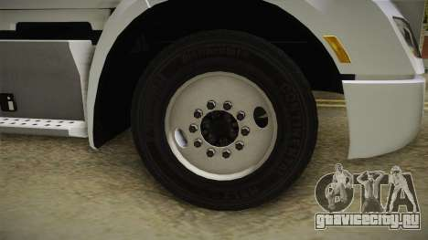 Peterbilt 579 Day Cab для GTA San Andreas вид сзади