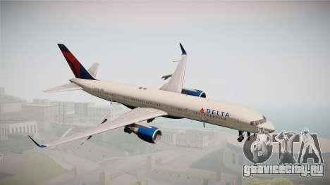 Boeing 757-200 Delta Air Lines для GTA San Andreas