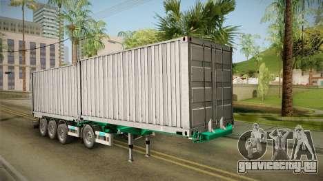 Trailer Container v1 для GTA San Andreas вид справа