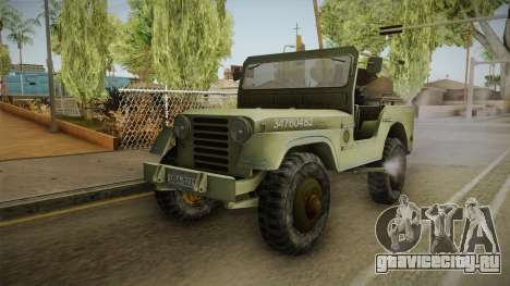 Jeep from The Bureau XCOM Declassified v2 для GTA San Andreas