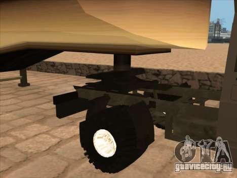 ИЖ 27175 для GTA San Andreas вид изнутри