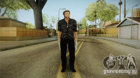 Logan in Black для GTA San Andreas второй скриншот