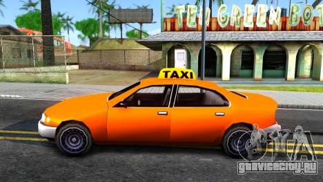 Kuruma GTA 3 Taxi для GTA San Andreas вид слева