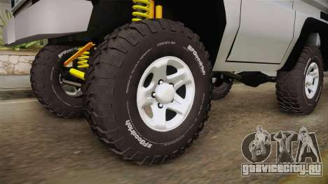 Toyota Land Cruiser Machito для GTA San Andreas вид сзади