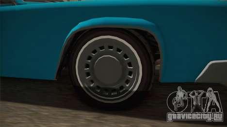 GTA 5 Albany Virgo Continental IVF для GTA San Andreas вид сзади