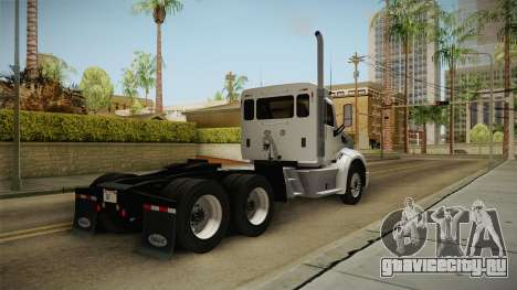 Peterbilt 579 Day Cab для GTA San Andreas вид справа