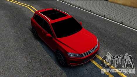 Volkswagen Touareg 2015 для GTA San Andreas