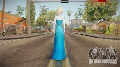 Frozen - Elsa v3 No Cape для GTA San Andreas третий скриншот