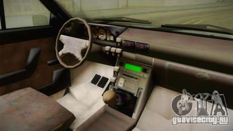 FSO Polonez Truck для GTA San Andreas вид сзади