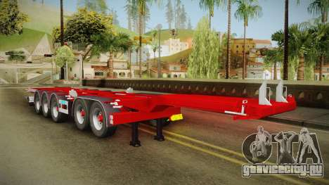 Trailer Container v2 для GTA San Andreas