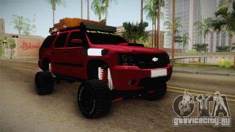 Chevrolet Tahoe Semi Offroad VZLA Edition для GTA San Andreas