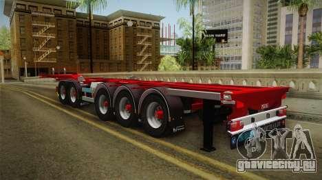Trailer Container v2 для GTA San Andreas вид сзади слева