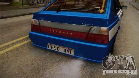 Daewoo-FSO Polonez Caro Plus Policja 2 1.6 GLi для GTA San Andreas вид сбоку