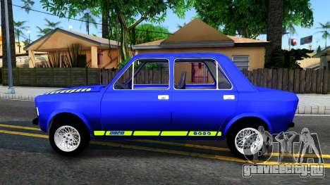 Fiat 128 v2 для GTA San Andreas вид слева