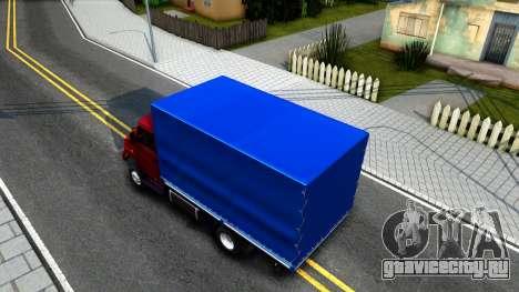 ЗИЛ 5301 Сток для GTA San Andreas вид сзади
