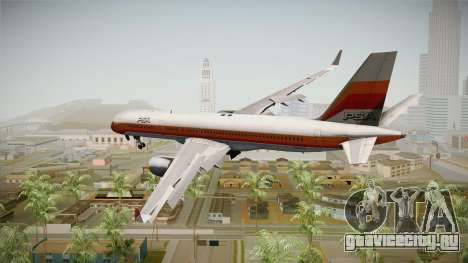 Boeing 757-200 Pacific Southwest Airlines для GTA San Andreas вид слева