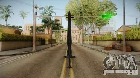 The Elder Scrolls V: Skyrim - Steel Sword для GTA San Andreas второй скриншот