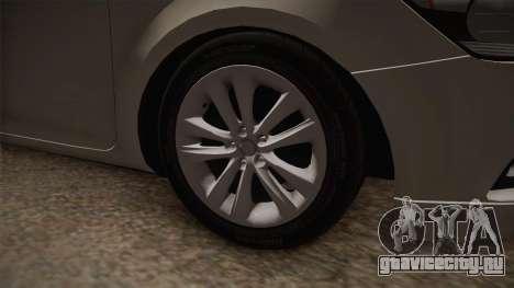 Kia Ceed для GTA San Andreas вид сзади
