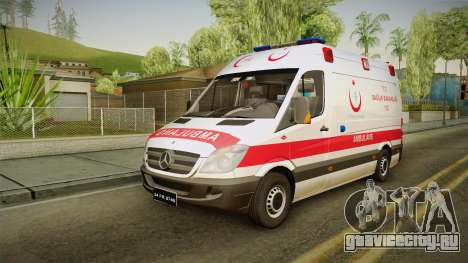 Mercedes-Benz Sprinter Turkish Ambulance для GTA San Andreas