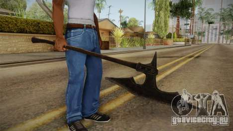 The Elder Scrolls V: Skyrim - Executioner Axe для GTA San Andreas третий скриншот