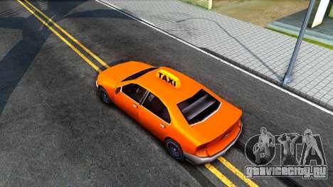 Kuruma GTA 3 Taxi для GTA San Andreas вид сзади