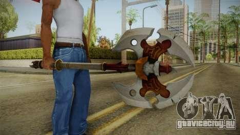 Injustice: Gods Among Us - Ares Axe для GTA San Andreas