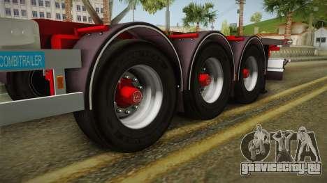 Trailer Container v2 для GTA San Andreas вид сзади