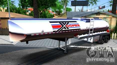 Realistic Tanker Trailer для GTA San Andreas