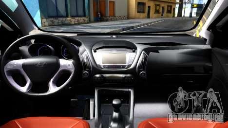 Hyundai HB20 для GTA San Andreas вид изнутри