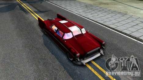 XNA Corvega Fallout 4 для GTA San Andreas вид справа