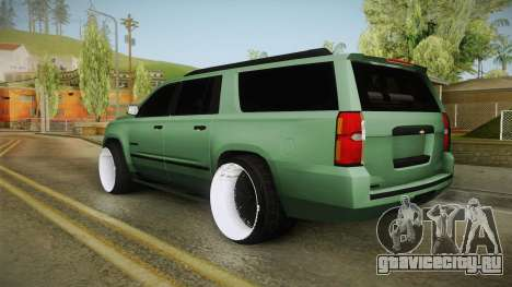 Chevrolet Tahoe GT Stance Bass Booster для GTA San Andreas вид справа