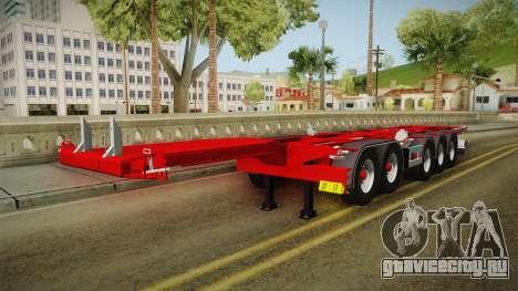 Trailer Container v2 для GTA San Andreas вид справа