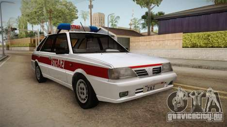 Daewoo-FSO Polonez Caro Plus Straż 1.6 GLi для GTA San Andreas вид справа