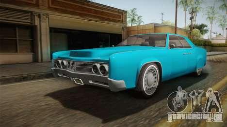 GTA 5 Albany Virgo Continental IVF для GTA San Andreas