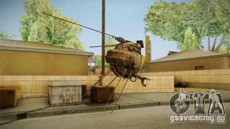 Fallout New Vegas DLC Lonesome Road - ED-E v1 для GTA San Andreas второй скриншот