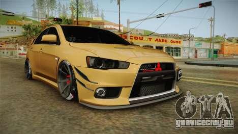 Mitsubishi Lancer EvoStreet для GTA San Andreas