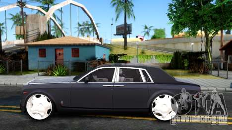 Rolls-Royce Phantom для GTA San Andreas вид слева