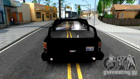 Tuned FBI Rancher для GTA San Andreas вид сзади слева