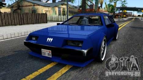 Deluxo SA Restyle для GTA San Andreas
