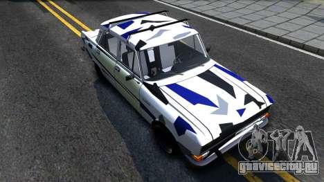 АЗЛК 2140 Москвич RDM для GTA San Andreas вид справа