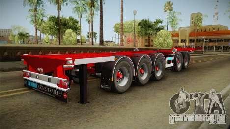 Trailer Container v2 для GTA San Andreas вид слева