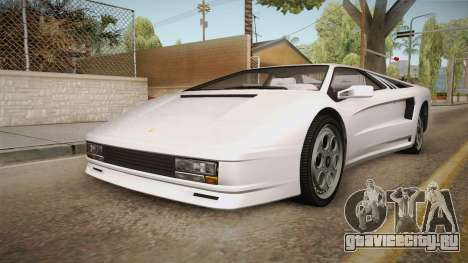 GTA 5 Pegassi Infernus Classic для GTA San Andreas